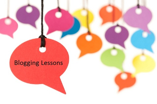 Blogging-Lessons