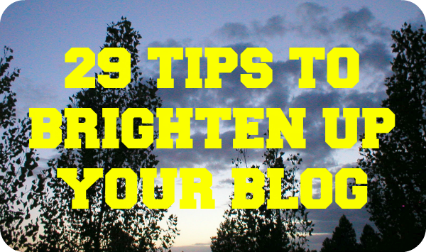 Blogging Tips To Smarten Your Site