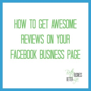 How to add a review to a Facebook business page